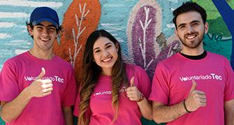 Participa en el Día del Voluntariado Tec